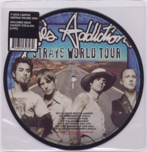 "Jane's Addiction - Strays 7"" Vinyl"